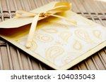 Golden Handmade Envelope For Cd