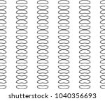 seamless vector pattern in... | Shutterstock .eps vector #1040356693
