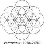 venn circles pattern   Shutterstock .eps vector #1040379703
