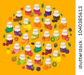 vector cartoon illustration... | Shutterstock .eps vector #1040385613