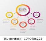 vector business template for...   Shutterstock .eps vector #1040406223