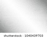 abstract halftone wave dotted... | Shutterstock .eps vector #1040439703