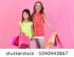 ladies buy new clothes or... | Shutterstock . vector #1040443867