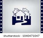 vector illustration with group... | Shutterstock .eps vector #1040471047