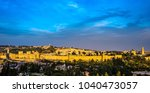 Jerusalem Old City Walls With...