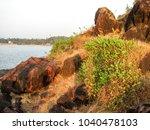 landscape sunset sea waves   Shutterstock . vector #1040478103