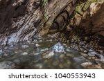 ponicova cave entrance in the... | Shutterstock . vector #1040553943