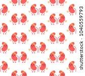 seamless pattern background... | Shutterstock .eps vector #1040559793