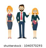 company  group  partners ...   Shutterstock .eps vector #1040570293