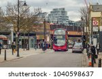 london  march  2018  view of... | Shutterstock . vector #1040598637