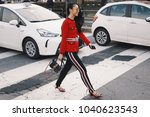 milan  italy   february 21 ... | Shutterstock . vector #1040623543