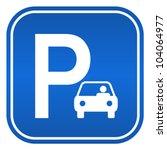 car parking sign  vector...