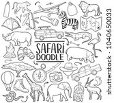 safari wild animals traditional ...