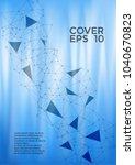 cool report template. global... | Shutterstock .eps vector #1040670823