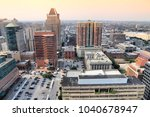 baltimore  united states  ... | Shutterstock . vector #1040678947