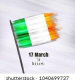 vector illustration of happy... | Shutterstock .eps vector #1040699737