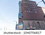 seattle  washington march 6th...   Shutterstock . vector #1040706817
