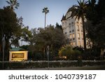 los angeles  ca  february 28 ... | Shutterstock . vector #1040739187