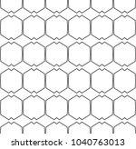 seamless vector pattern in... | Shutterstock .eps vector #1040763013