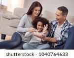 inspired family. pretty... | Shutterstock . vector #1040764633