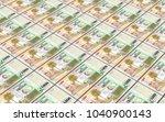 uruguay peso bills stacks... | Shutterstock . vector #1040900143