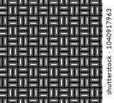 seamless pattern with parquet... | Shutterstock .eps vector #1040917963