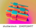 colourful sliders icon on candy ...