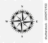old retro compass for... | Shutterstock .eps vector #1040971933