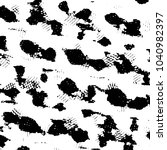 black and white grunge stripe... | Shutterstock . vector #1040982397