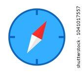 compass icon vector | Shutterstock .eps vector #1041017557