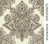 vector seamless pattern with... | Shutterstock .eps vector #1041030673