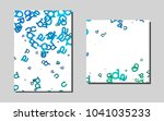 light bluevector cover for... | Shutterstock .eps vector #1041035233