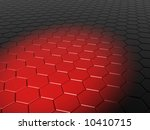3d abstract red background | Shutterstock . vector #10410715