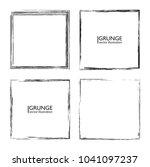 vector frames. squares for... | Shutterstock .eps vector #1041097237