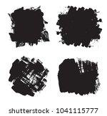 hand drawn scribble symbols...   Shutterstock .eps vector #1041115777
