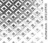 black and white grunge stripe... | Shutterstock .eps vector #1041145933