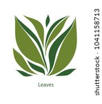 green leaves of trees and... | Shutterstock .eps vector #1041158713