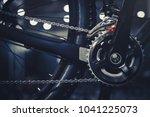 closeup of a mechanism of... | Shutterstock . vector #1041225073