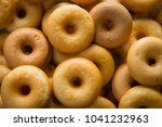 the many donuts. donuts dough... | Shutterstock . vector #1041232963