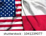 United States America Flag Poland - Fine Art prints