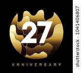 27 years golden anniversary...