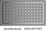 black and white relief convex... | Shutterstock . vector #1041427447