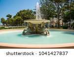 fountain of four horses in... | Shutterstock . vector #1041427837