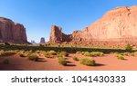scenic drive on dirt road...   Shutterstock . vector #1041430333