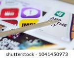 bangkok  thailand march 5 2018  ...   Shutterstock . vector #1041450973