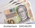 Croatian Currency Notes   10...