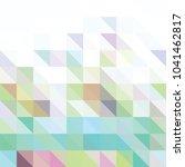triangle vector background | Shutterstock .eps vector #1041462817