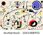 abstract beige background ... | Shutterstock .eps vector #1041488953
