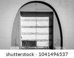 interesting doorway entrys | Shutterstock . vector #1041496537
