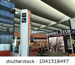 domestic departure hall at... | Shutterstock . vector #1041518497
